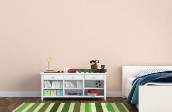 chambre enfant tapis rayure