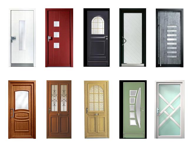 types de portes d'entrée