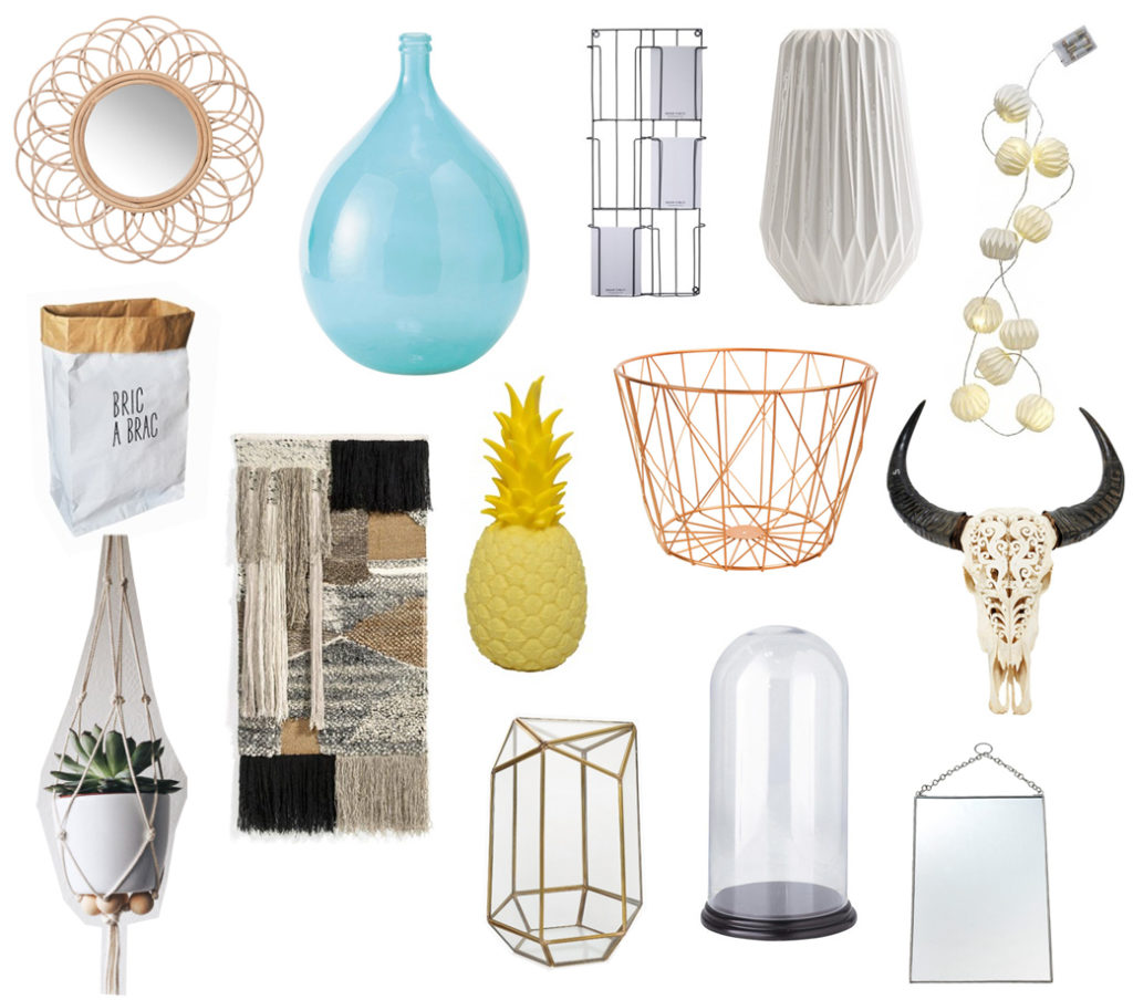 objects déco scandinave en vente a bricomarché