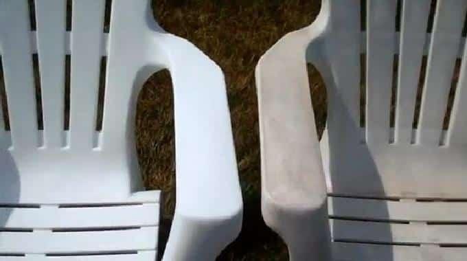 nettoyage meuble plastique extérieurs