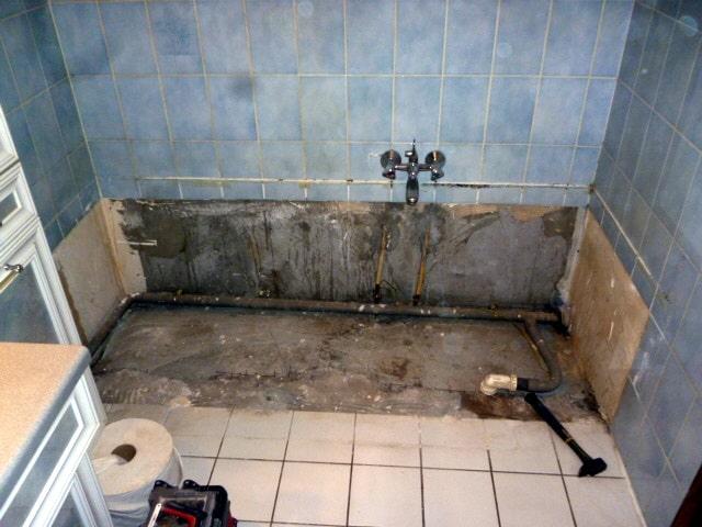 dépose baignoire