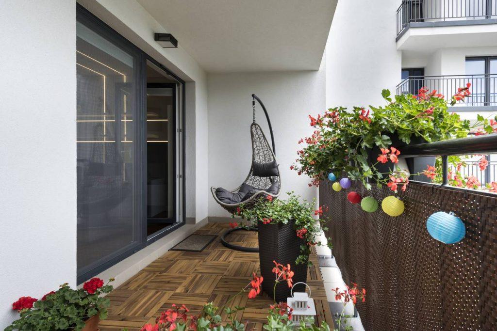 amenagement et décoration de balcon