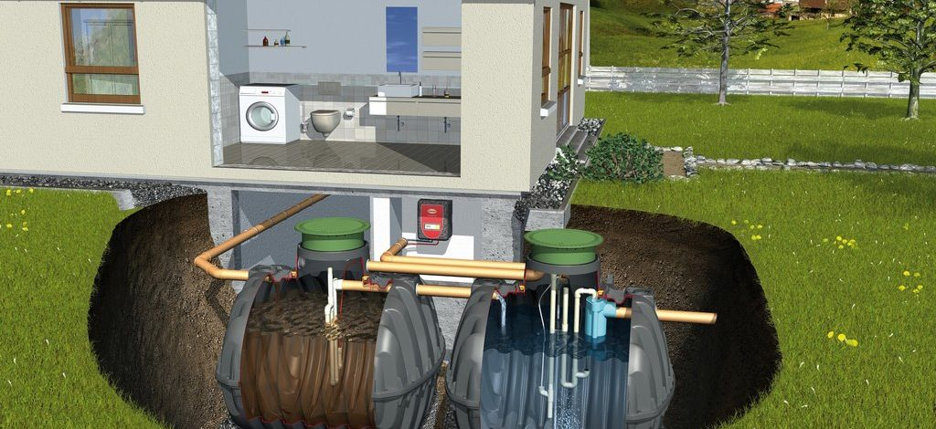 Microstation d'épuration